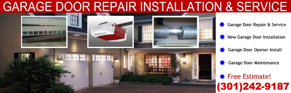 Laurel MD Garage Door Repair (301)242 9187